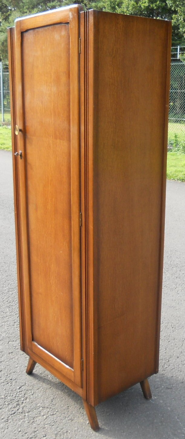 Oak Single Door Narrow Wardrobe SOLD : oak single door narrow wardrobe sold 3 3457 p from www.harrisonantiquefurniture.co.uk size 611 x 1446 jpeg 203kB